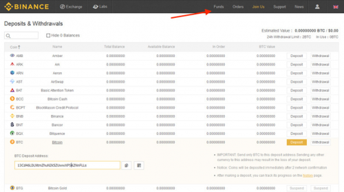 Binance Add Coins