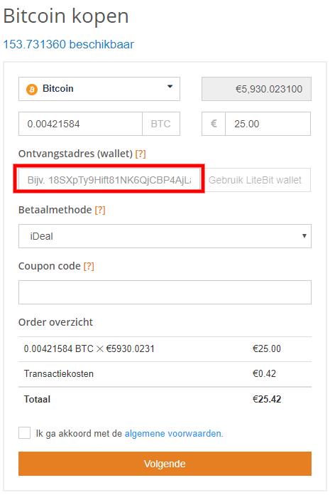 Bitcoin kopen OKEX