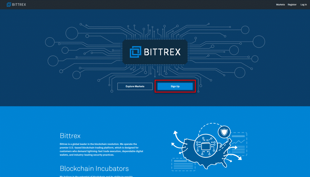 Bittrex registration