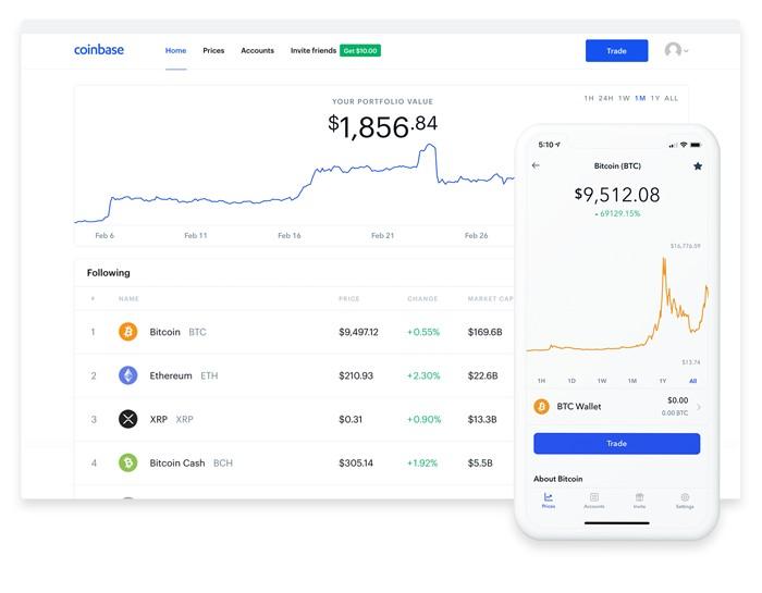 Coinbase app crypto